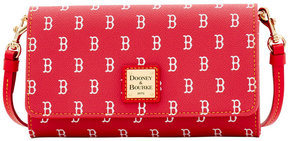 Dooney & Bourke Boston Red Sox Daphne Crossbody Wallet - RED/RED - STYLE
