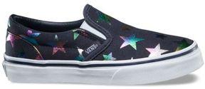 Vans Kids Foil Stars Slip-On