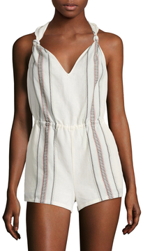 Dolce Vita Women's Anya Embroidered Romper