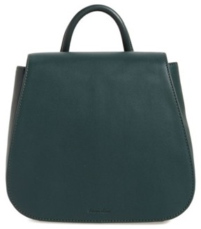 Steven Alan Small Kate Convertible Leather Backpack - Green
