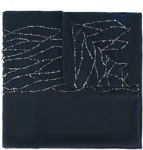 Armani Collezioni embellished scarf