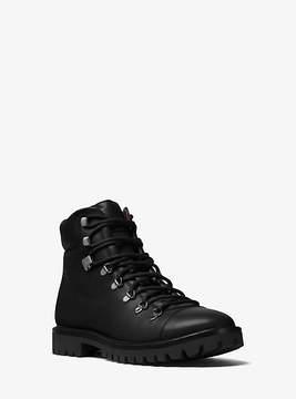 Michael Kors Lance Leather Hiking Boot