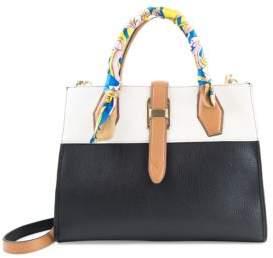 Colette Signature Colorblock Leather Satchel