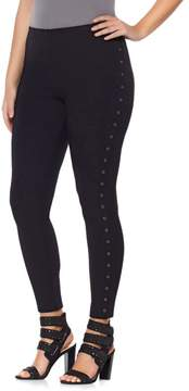 Lysse Smoothing Waist Grommet Legging - Plus