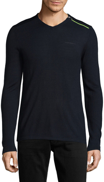 Armani Exchange Men's Merino Wool Sweater