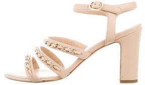 Chanel Multistrap Chain-Embellished Sandals