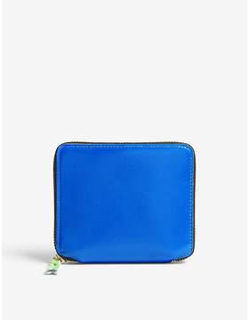 Comme des Garcons Fluo medium leather wallet