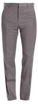 Ralph Lauren Purple Label Flat-Front Pants