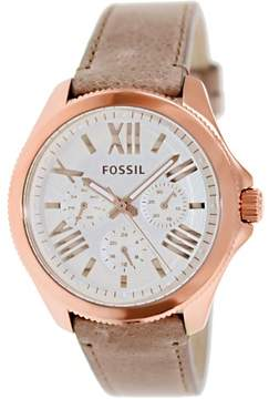 Fossil Women's AM4532 Cecile Leather Watch, 40mm