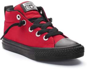 Converse Boys' Chuck Taylor All Star Street Mid Sneakers