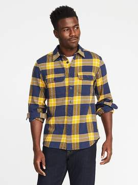 Old Navy Plaid Flannel Shirt Jacket for Men