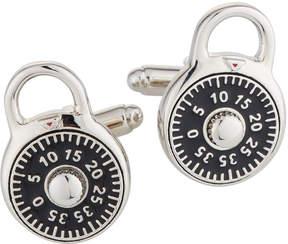 DAY Birger et Mikkelsen Linked Up Enameled Combination Lock Cuff Links