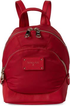 Patrizia Pepe Red Nylon Mini Backpack