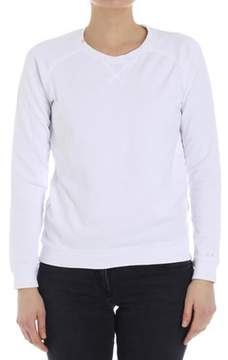 Sun 68 Women's White Cotton Sweatshirt.