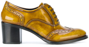 Church's mid-heel laced brogues