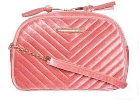 Pink Velvet Camera Bag