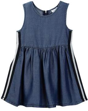 Splendid Side Taping Tencel Dress (Toddler Girls)