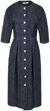 Tibi Raw Denim Shirtdress