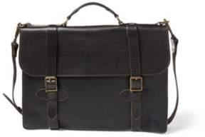 Ralph Lauren Leather Corbin Briefcase Vintage Black One Size