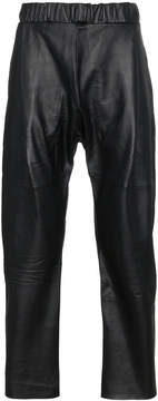 Buffalo David Bitton Willy Chavarria Leather Trousers