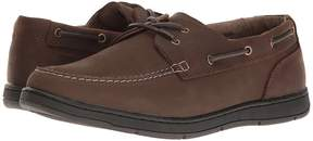 Nunn Bush Schooner Two-Eye Boat Shoe Men's Slip on Shoes