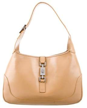 Gucci Leather Medium Jackie Bag - BROWN - STYLE