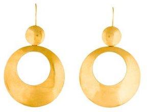 Amrapali 18K Round Drop Earrings