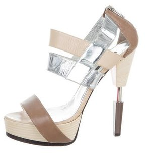 Ruthie Davis Platform Leather Sandals