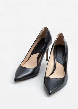 Mango Outlet Leather pumps