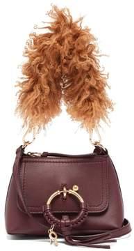 See by Chloe Joan Mini Leather Cross Body Bag - Womens - Purple Multi