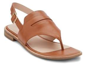G.H. Bass Maddie Leather Thong Sandals