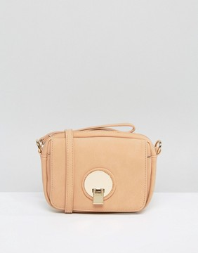 Pieces Lene Blush Mini Cross Body Bag