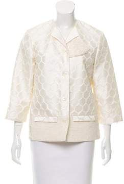 Creatures of the Wind Lace Cropped Jacket