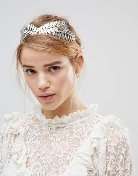Asos DESIGN Leaf Headband