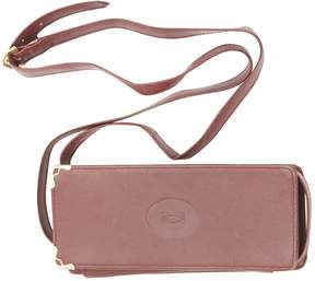 Cartier Burgundy Leather Clutch Bag