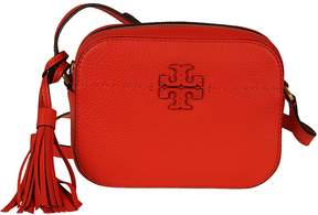 Tory Burch Logo Shoulder Bag - POPPY RED - STYLE