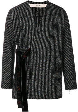 Damir Doma striped crossover jacket