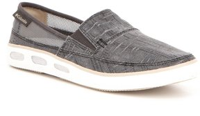 Columbia Vulc N Vent Lightweight Washed Canvas Ventilated Slip On Sneakers