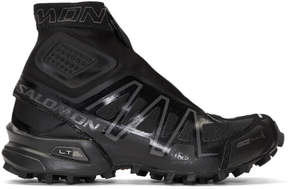 Salomon Black Limited Edition S-Lab Snowcross High-Top Sneakers
