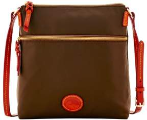 Dooney & Bourke Nylon Crossbody Shoulder Bag - BROWN TMORO - STYLE