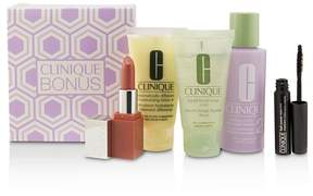 Clinique 3-Step Skin Care System (Skin Type 2): Liquid Facial Soap Mild+Clarifying Lotion 2+DDML+Lash Power Mascara+Clinique Pop Lip