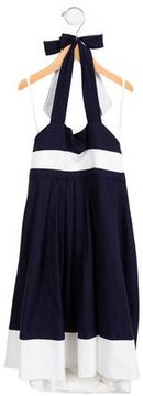 Helena Girls' Halter Dress