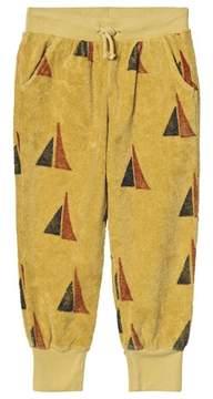 Bobo Choses Yellow Sailing Print Alma Track Pants