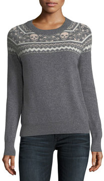 360 Sweater 360Sweater Miley Crewneck Long-Sleeve Cashmere Sweater