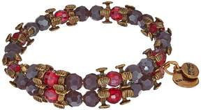 Alex and Ani Splendor Wrap Aubergine Bracelet Bracelet