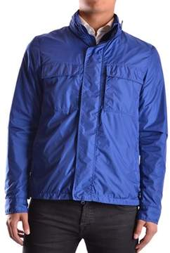 Aspesi Men's Blue Polyamide Outerwear Jacket.