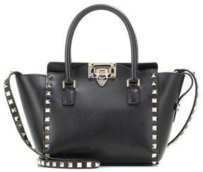 Valentino Rockstud Double Handle leather bag