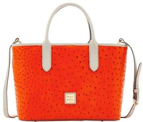 Dooney & Bourke Ostrich Brielle Top Handle Bag