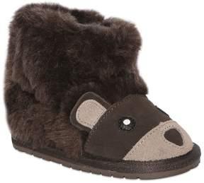 Emu Bear Merino Wool & Leather Boots