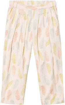 Mini A Ture Noa Noa Miniature Sand Feather Print Dollar Long Trousers